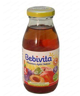 Bebivita Бебешки Сок Ябълки и сливи 200мл.